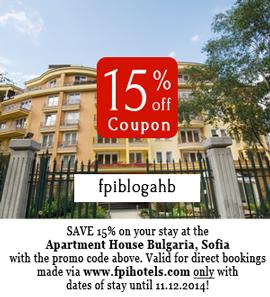 Apart Hotel in Sofia Discount Code