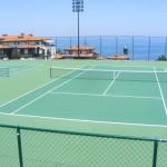 хотел с тенис кортове на морето